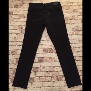 Levi's black 311 shaping skinny jeans